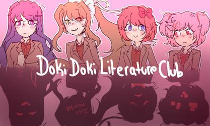 Doki Doki Literature Club by mabill2001