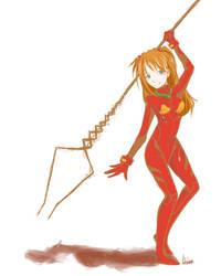 Asuka Will Kick Your Ass by Adriiana-chan