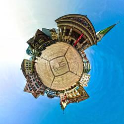 Marktplatz Globe by lg-studio