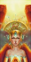 Phoenix Queen . Queen . by AlexandraKnickel