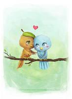 Little Birds by AlexandraKnickel