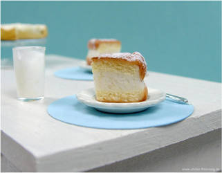 Cheesecake Earstuds by AlexandraKnickel