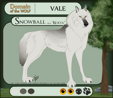 Snowball - Vale - Delta Highland Guard by InstantCoyote