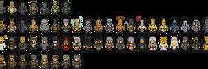 Dark Souls Armor by ServantofEntropy