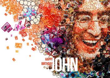 Happy Birthday John ! by KaosJelek