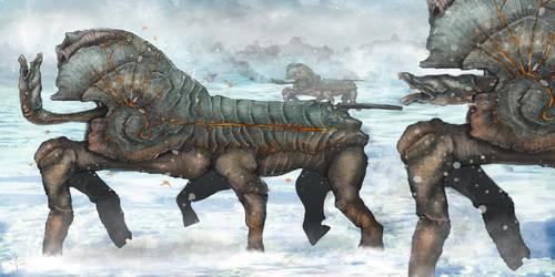 oryctes aloeus by Vincent-Covielloart