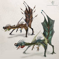 Leafy Dragon by Vincent-Covielloart