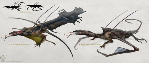 Dragon louse by Vincent-Covielloart