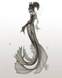Merman by Vincent-Covielloart