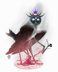 Goetia Stolas by Vincent-Covielloart