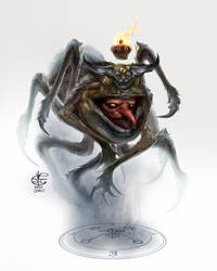 Goetia Baal by Vincent-Covielloart