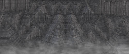 Alien cities pyramids 101 by eddyhaze