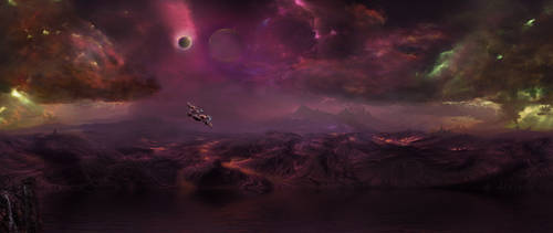 Alien City Colorful Kingdom by eddyhaze
