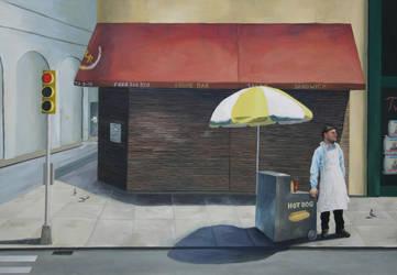 New York hot dog story by lratajczyk
