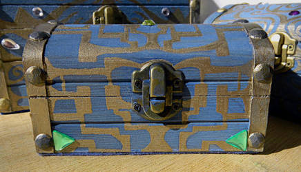 The Boss Key Chest with Green Triangles by mayokeoni
