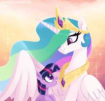Princess and her student by Sonnatora