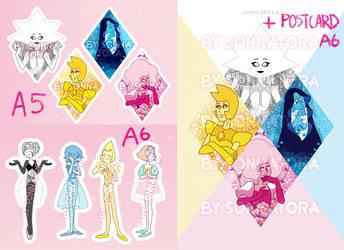 [SU] Diamonds and Pearls PRE-ORDER + gift-postcard by Sonnatora