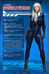 Invisible Woman (Character Profile) by Sandmarine
