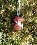 Cute Fox Pendant by FeynaSkydancer