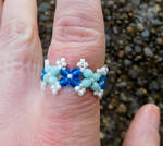 Blue ring by FeynaSkydancer