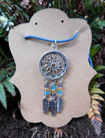 Dreamcatcher Pendant by FeynaSkydancer