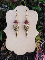 Little Flower Fairies Earrings by FeynaSkydancer
