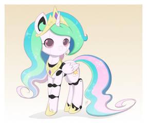 Princess Sunbot (Alt) by Jdan-S