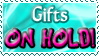 Gifts ON HOLD - Stamp by Drache-Lehre
