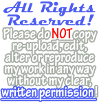 Simple All Rights Reserved! Banner (Blue) by Drache-Lehre