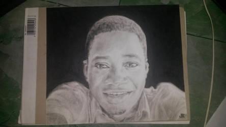 portrait of a friend by sunshinejudy