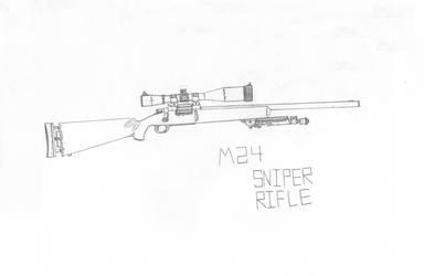 M24 Sniper Rifle by DICEMAN987