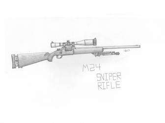 M24 Sniper Rifle - Shaded by DICEMAN987