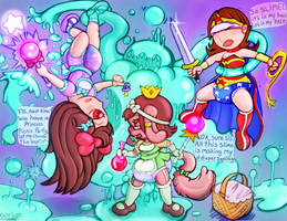 Baby Warrior Princesses by OverFlo207 by OverFlo207