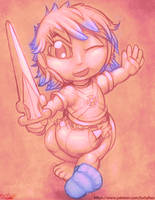 OzzieAstaroth - He-Man Baby by OverFlo207 by OverFlo207