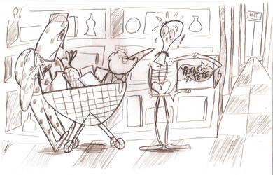 Superted and the Terrible Supermarket Pun by DeeIsBrowsing