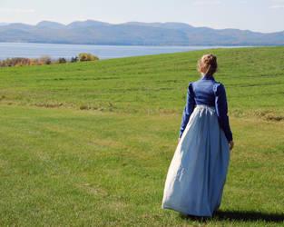 1805 Dress and Spencer - Back by Goldenspring