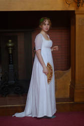 Regency Muslin Gown- Fireplace by Goldenspring