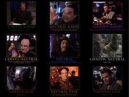 Babylon 5 Alignment Chart by CheeseDogX