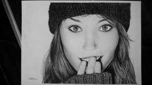 Girl portrait by Nicolas-Szymczyk-Art
