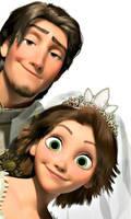 Eugene and Rapunzel by DaveAndBeckyTSAevfan