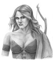 Elven Archer by EricKemphfer