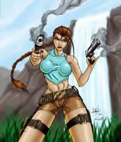 Lara Croft: Tomb Raider by EricKemphfer
