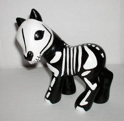 Skeleton My Little Pony by DigitalParanoia