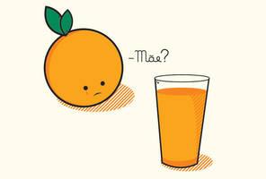orange juice by harisson