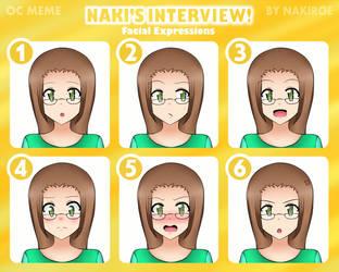 OC Meme - Naki's Interview: Amai Shirato by superalvichan