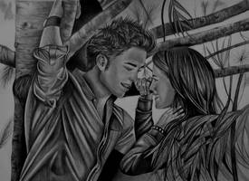bella and edward...twilight by gzertkl
