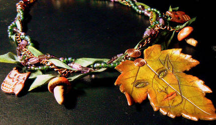 Forest Frolic Necklace by ElysianField