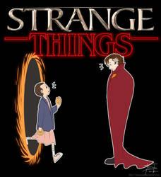 Doctor Strange x Stranger Things by tirmesaito