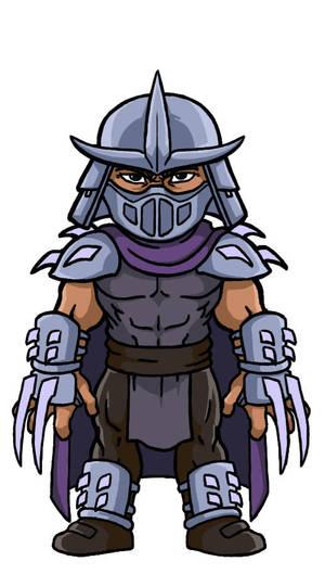 Chibi villains: Shredder by Marvilius