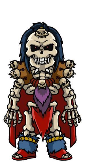 Chibi villains: Baron Dark by Marvilius